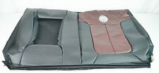 NEW OEM FORD F150 HARLEY REAR SEAT COVER BACK BLACK RED LEATHER LEFT SIDE