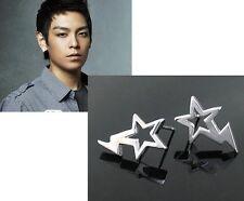 Korean Band Big Bang Leader T.O.P Star Flash earrings