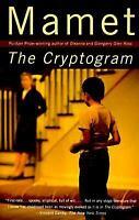 The Cryptogram Paperback David Mamet