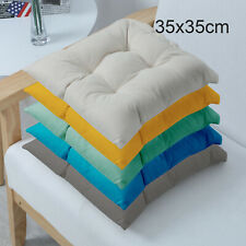 Waterproof Chair Cushion Outdoor Tie On Garden Patio Removable Seat Pads 35X35cm