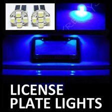 BLUE LED LICENSE PLATE TAG LIGHT BULBS #Z2