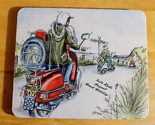Scooter mousemat, Isle of Wight Scooter Rally mousemat, skinhead mod mousemat