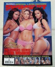 SSX BLACK MEN Hot Sexy LATIN WOMEN Special TRIBUTE Issue MUY CALIENTE Vida MAYRA