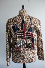 Adidas Originals Obo Jeremy Scott track 2011 Leopard Claw tracksuit jacket M