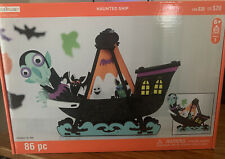 Halloween 3D Structure Haunted Ship Creatology Foam Craft Ages 6+ New