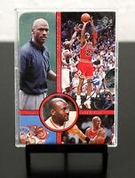 "1997 Upper Deck SP Michael Jordan  ""25,000 Points"" Foil insert Card."