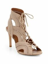 41aac4799d49 Joie  Remy  Leather Lace Up Heel Sandal Bootie