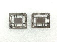 PLCC-32P-T-SMT-LF FCI SOCKET 32 POS PLCC SMT 8 PIECES