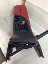 2013 BMW F10 M5 RED LEATHER CENTER CONSOLE ARMREST OEM