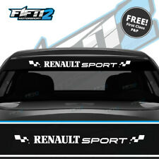 Renault Sport Universal Sunstrip Kit Clio Megane Scenic Twingo RS Cup 172