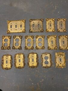 Lot of 15 Florenta of California 1960's Switchplate and Outlet Covers
