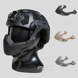 FMA Half Seal Mask (Folding) For Tactical Helmet with Rail B - (TB1364)-