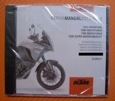 Werkstatthandbuch Reparaturanleitung CD DVD KTM 1050 1090 1190 1290 Adventure