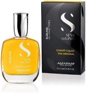 Alfaparf Semi Di Lino Sublime Cristalli Liquidi For All Hair Types -Serum 50 ml