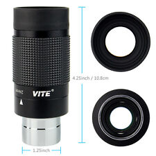 "8-24mm 1.25 ""31,7 millimetri Zoom Oculare per Telescopio Skywatcher completament"