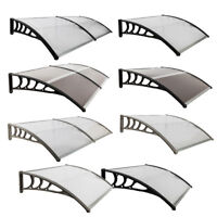 "40""x30""/40""/80"" Outdoor Front Door Window Awning Patio Canopy Cover UV Protected"