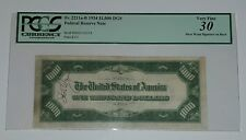 1934 $1000 Bill US Federal Reserve Note Steve Wynn Signed PCGS VF30 1 of a kind!
