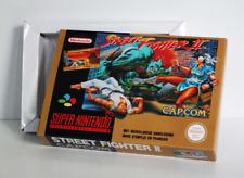 Boîte SNES – Street Fighter 2 [FAH]
