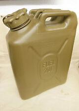 Scepter MFC 20L/5Gal Field Drab - Gas Petrol Can NEW OFFROAD w CAP STRAP