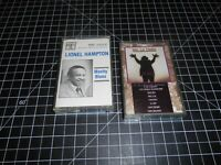 2 Classic Blues Music Vintage Cassette Audio TapesBy Two Classic Blues Artists