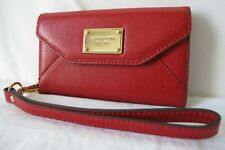Michael Kors Folio Wallet Iphone 5 SE Case Red