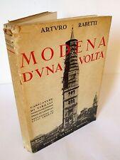 Arturo Rabetti,MODENA D'UNA VOLTA,1975 La Vela[storia locale,caricature Tirelli