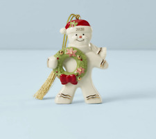 Lenox Christmas Gingerbread Ornament New Dated 2020 889965
