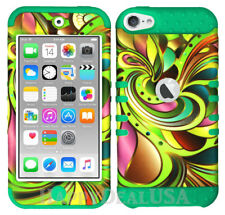 For Apple iPod Touch iTouch 5 | 6 - KoolKase Hybrid Cover Case - Ribbon Color 20