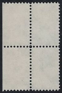 TD-- Test/Dummy Coil White Blank Block of 4 of Thrift / Savings Stamps Mint NH