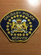 PATCH POLICE CANADA - CALGARY ( ALBERTA ) - ORIGINAL!