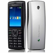 Sony Ericsson Cedar J108i sbloccato telefono cellulare-grado B-NERO/ARGENTO GARANZIA