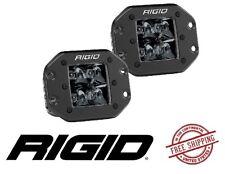 "Rigid Industries D-Series PRO Midnight Edition 3"" LED Flush Mount Light Set Spot"