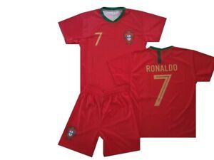 Portugal fanshirt & shorts trikot shirt Ronaldo Herren Gr M