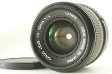 [Excellent+++] Canon New FD NFD 35mm f/2 Wide Angle MF Lens From Japan
