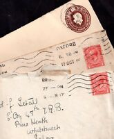 GB KGV Postal History covers collection WS7400