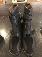 See By Chloe Biker Leather Boots 37 4 UK