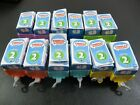 Thomas And Friends Minis Series 2 Blind Box Train Engines In Cargo Cars Lot Of 12