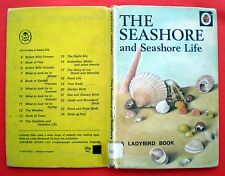 The Seashore And Life Ladybird vintage book sea nature gull jellyfish crab 30p
