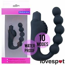 NEW Men/Women Vibrating Prostate Massager Anal/Butt Plug Adult/Sex Toy PSPOT