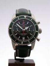 Relojes de pulsera Breitling cuero cronógrafo