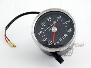 Smith Repro miles speedometer grey face BSA Triumph wie 60er jahre meilen tacho