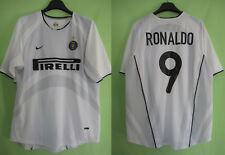 Maillot inter milan Internazionale 2001 Nike Ronaldo #9 Pirelli Vintage - XL