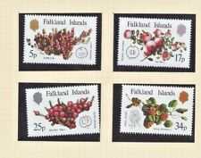 FALKLAND ISLANDS  1983  SG459 - 462 -  NATIVE FRUITS Set of 4 - Mint MNH