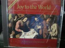 Joy To The World (CD) A Baroque Christmas WORLD SHIP AVAIL