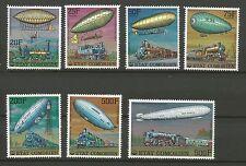 ballon dirigeable ÉTAT COMORIEN POSTE AÉRIENNE 7 timbres anciens neufs /T228