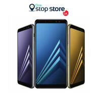Samsung Galaxy A8 2018 A530F 32GB NFC Unlocked Smartphone Black/Blue/Gold Colour