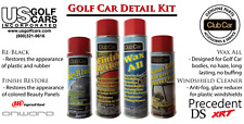 The Ultimate OEM Golf Cart Detail Kit for Club Car, EZ-GO,Yamaha. A Great Gift!