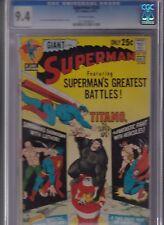 SUPERMAN #239 CGC 9.4 NM JUN 1971 OFF-WHITE Pages GIANT 25C Lex LUTHOR TITANO