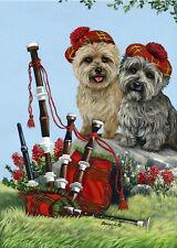 "Precious Pet Garden Flag - Cairn Terrier Piper 12"" x 18"" ~ Charity!!"