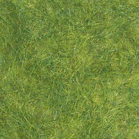 Busch 7371 NEW EXTRA LONG STATIC GRASS  SPRING GREEN